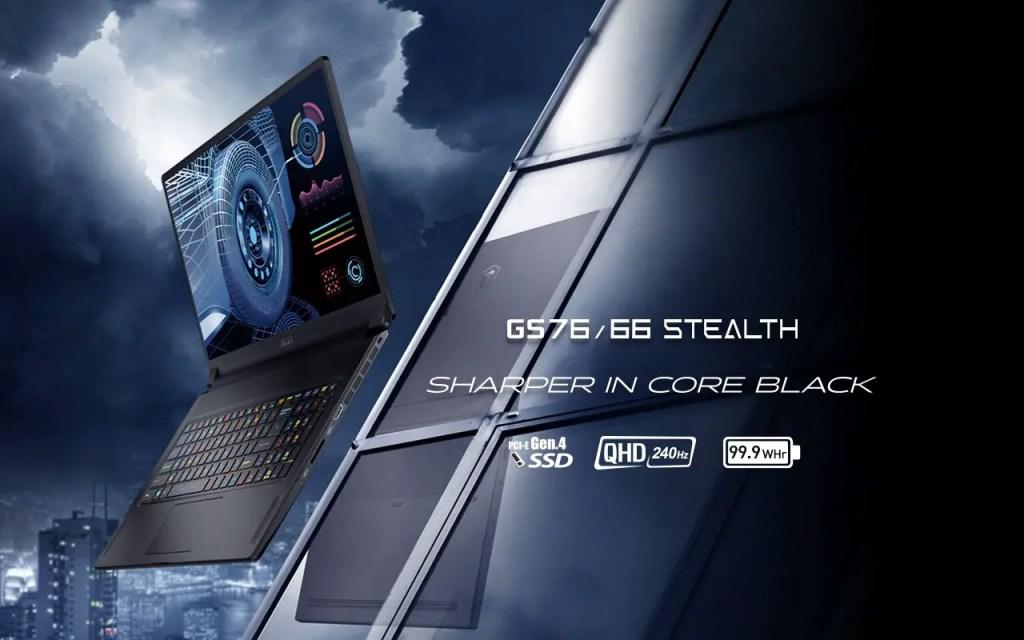MSI GS76 GS66 Stealth