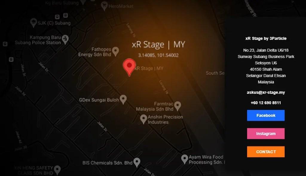 xR Stage Malaysia Location