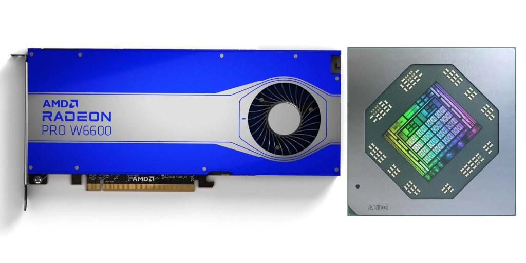 AMD Radeon PRO W6600 W6600M