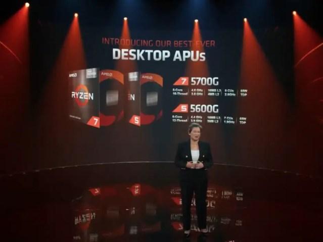AMD Ryzen 7 5700G Ryzen 5 5600G retail