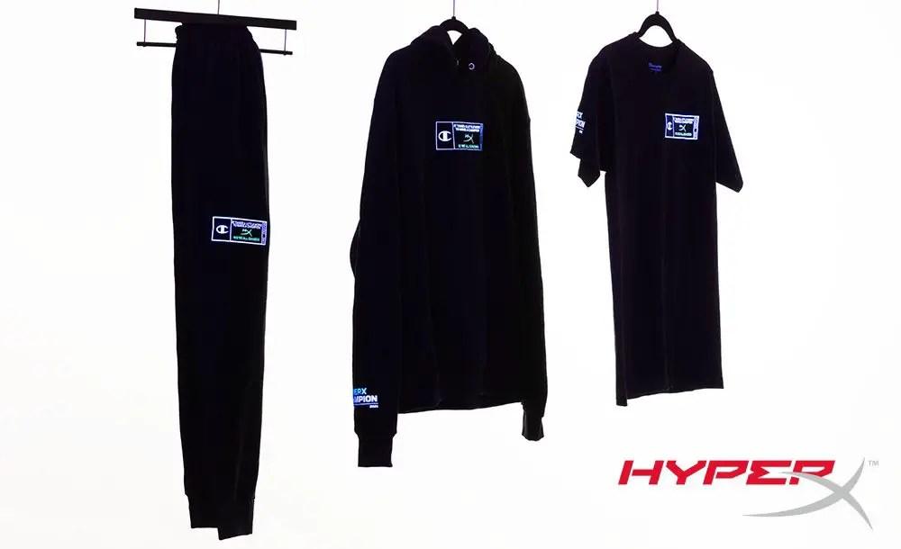 HyperX Champion Collab Clothes 1