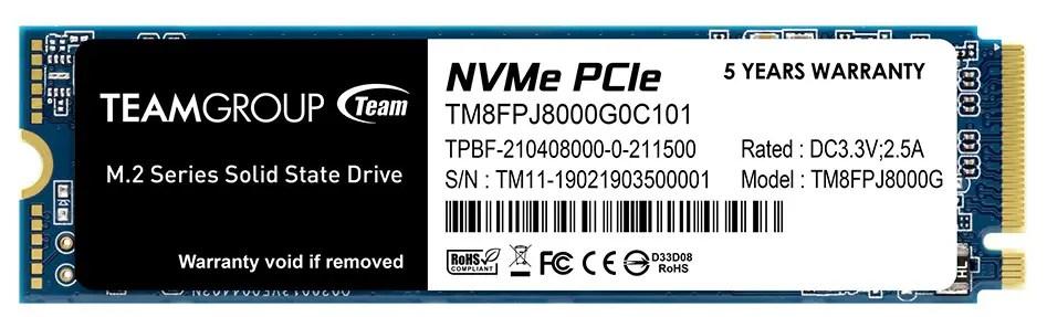 TEAMGROUPMP34Q M.2 PCIe SSD