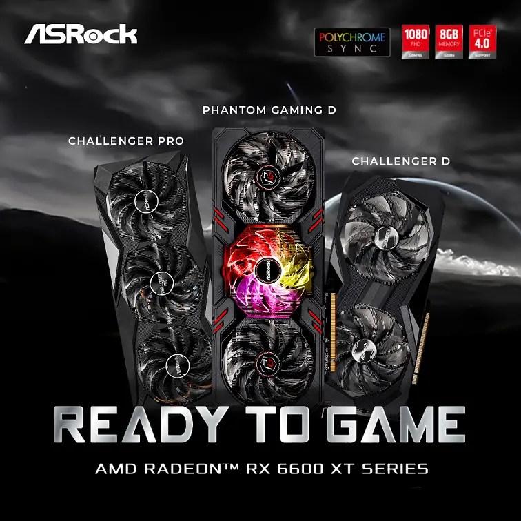ASRock Radeon 6600 XT