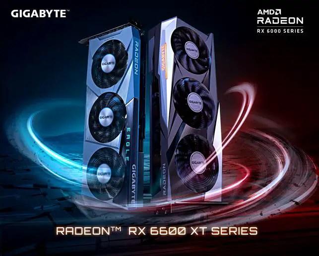 GIGABYTE Radeon RX 6600 XT Series