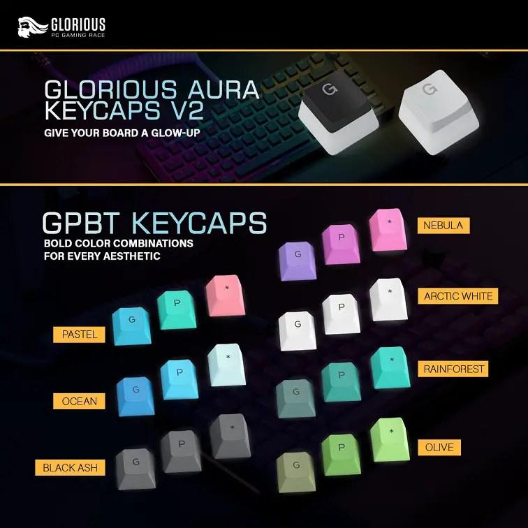 Glorious Keycaps