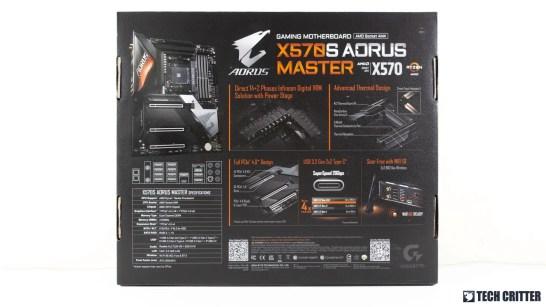 GIGABYTE X570S AORUS MASTER 1
