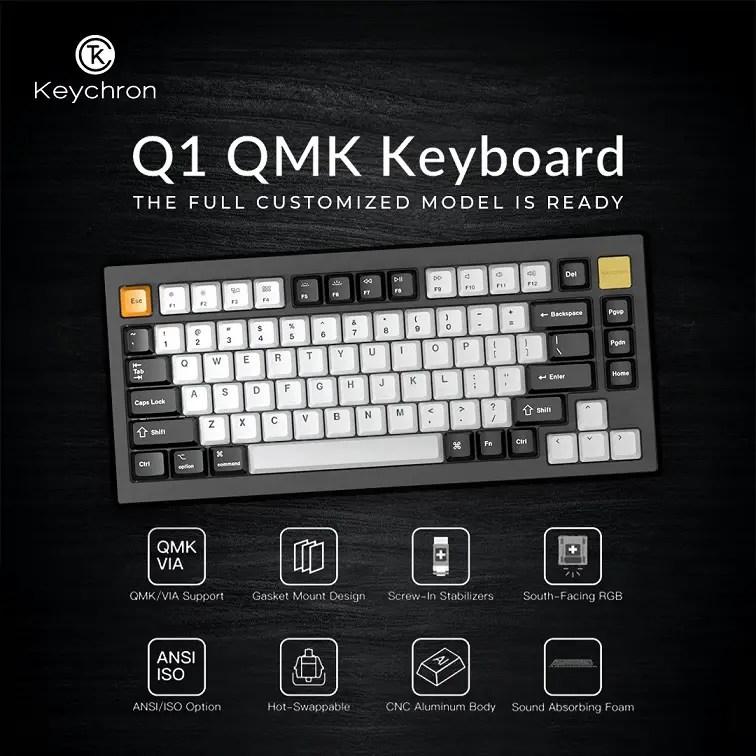Keychron Q1 QMK Keyboard