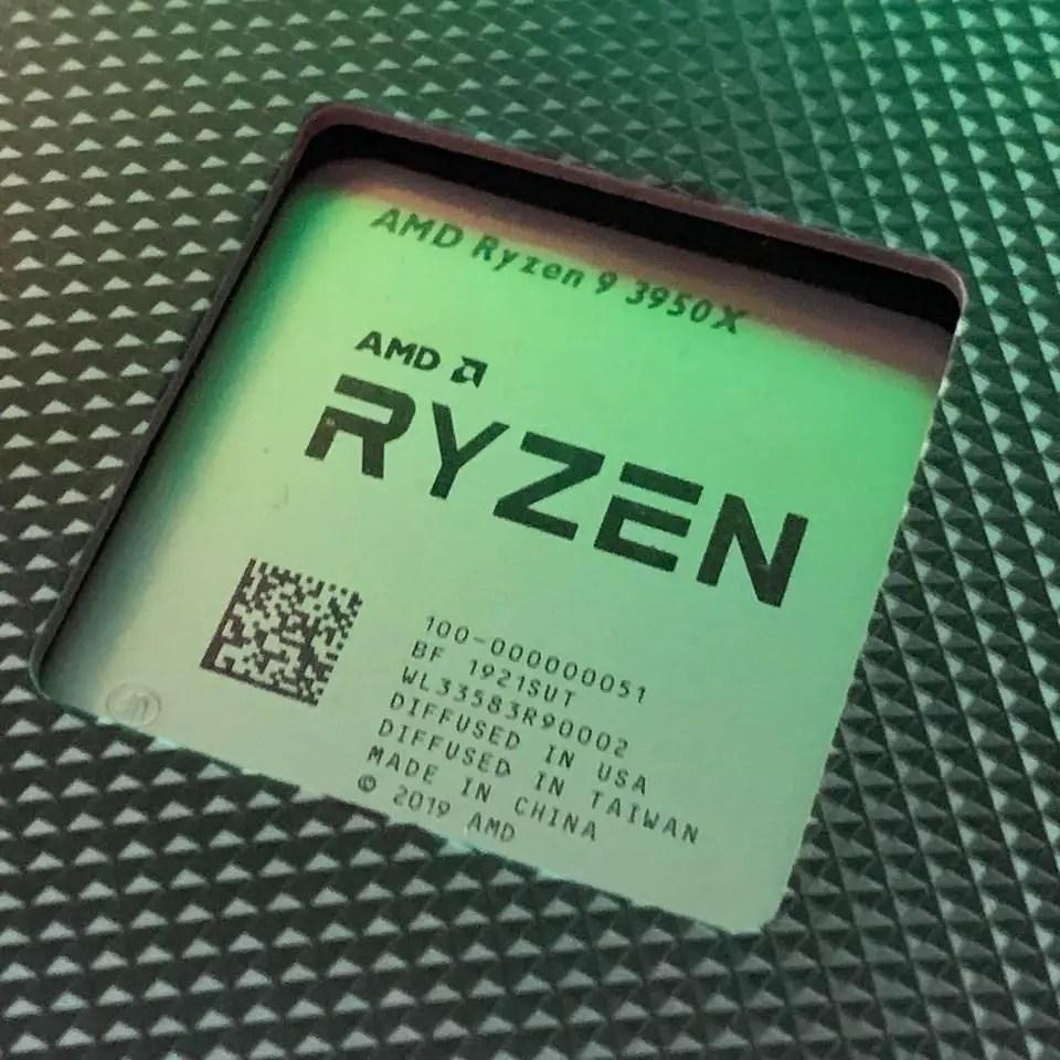 AMD Ryzen 9 3950X delayed with Threadripper