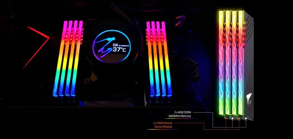 AORUS RGB MEMORY 16GB 3600MHz (4)