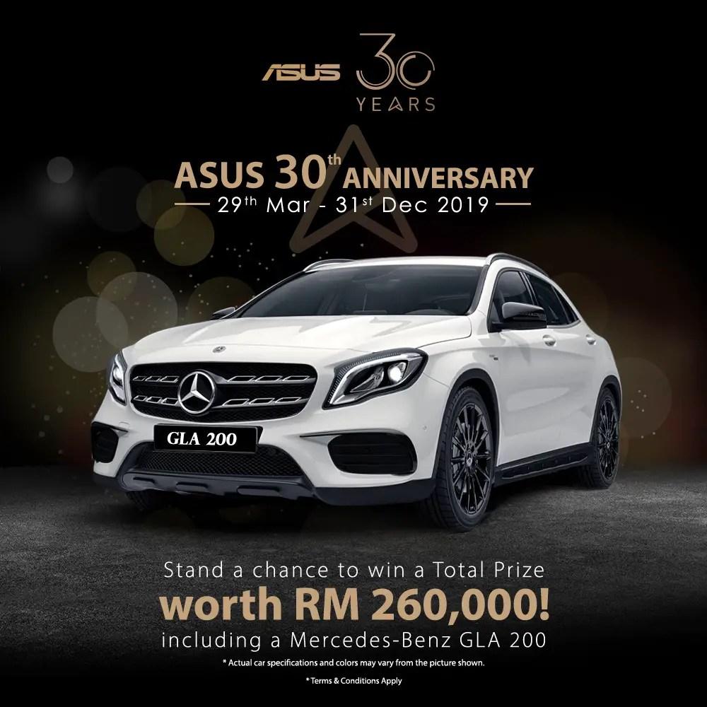 ASUS 30th Anniversary Facebook