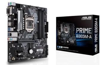 ASUS Prime B365M-A B365 chipset
