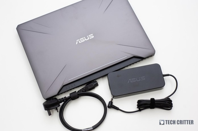 Review - ASUS TUF Gaming FX505 (i7-8750H, GTX 1060, 8GB, 128GB SSD +