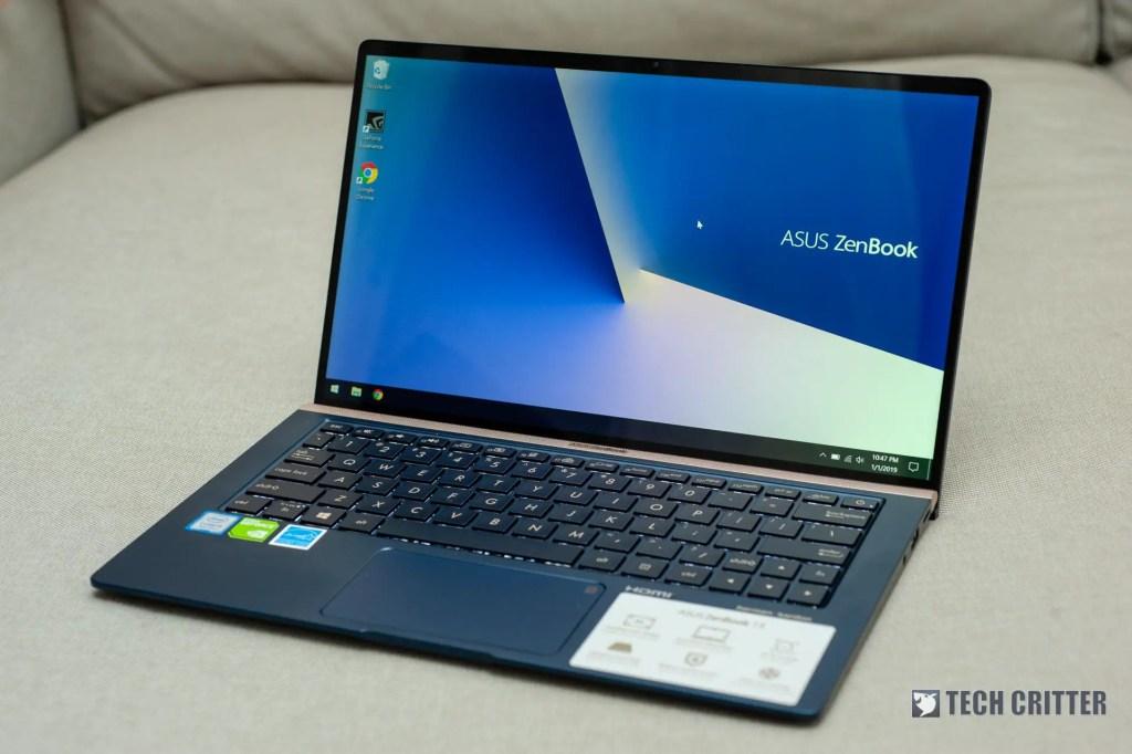 Review - ASUS ZenBook 13 UX333F (i5-8265U, 8GB, 512GB, MX150) 10