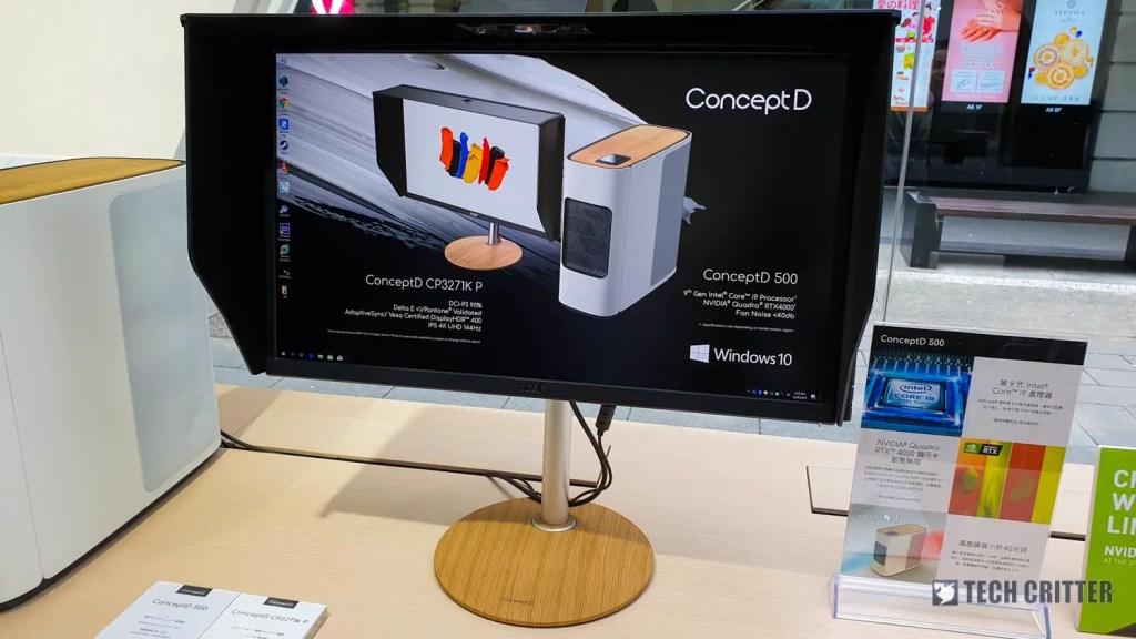 Acer ConceptD CP3271K P Computex 2019