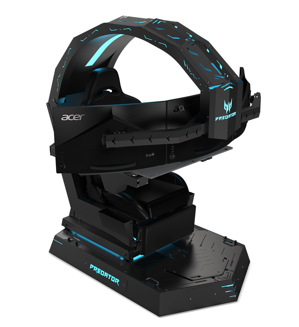 Emperor Gaming Chair >> Ifa 2018 Acer Predator Thronos Is The Emperor Chair For Gamers