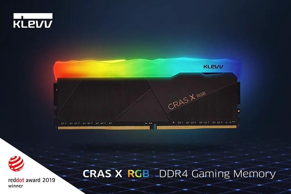 Computex 2019 KLEVV CRAS RGB DDR4 Memory