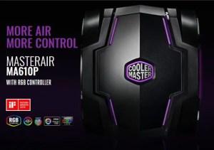 Cooler Master MasterAir MA610P RGB CPU Cooler Header