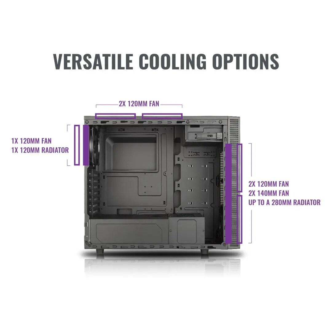 Cooler Master MasterBox E500L (1)