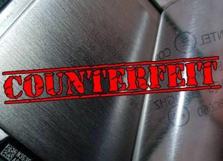 Counterfeit Intel Processors