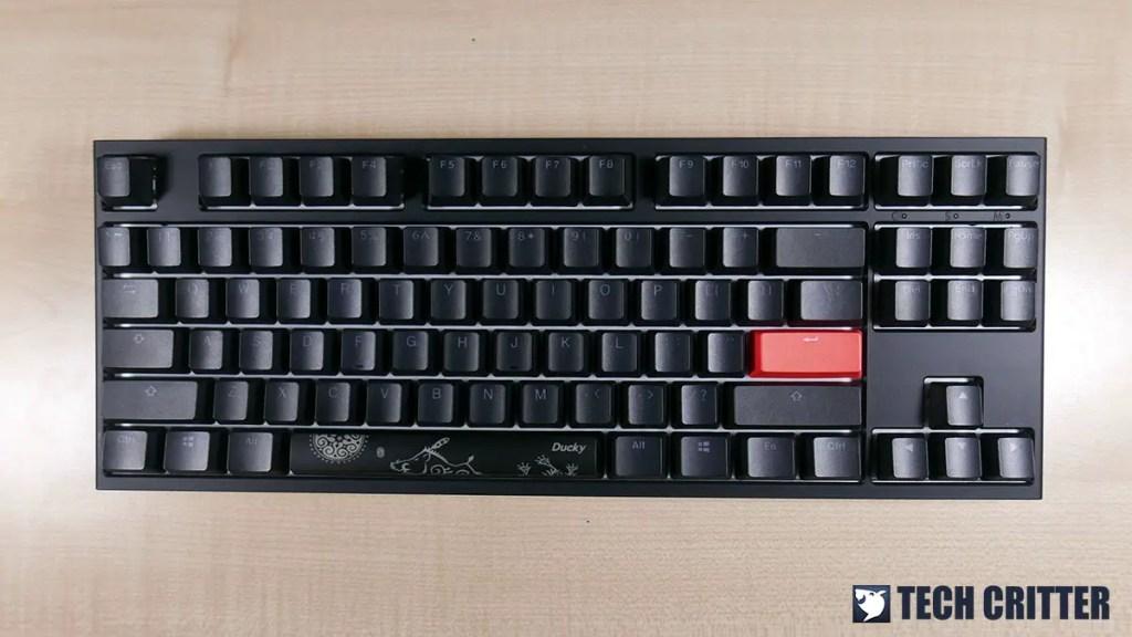 Ducky One 2 RGB TKL RGB LED Double Shot PBT Mechanical Keyboard (6)