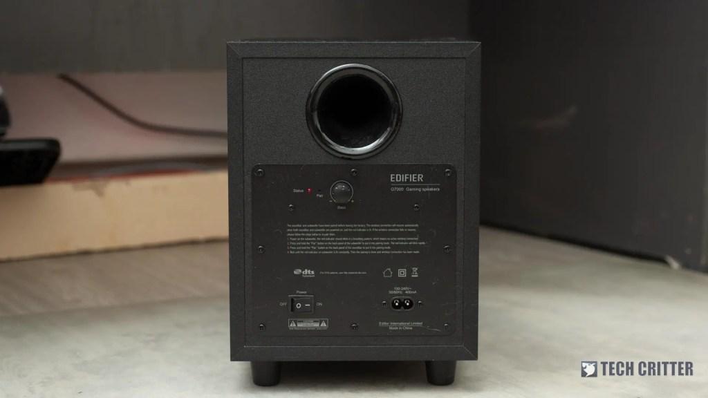 Review - Edifier G7000 Gaming Speaker 6