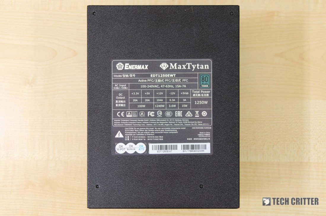 Enermax MaxTytan 1250W (27)