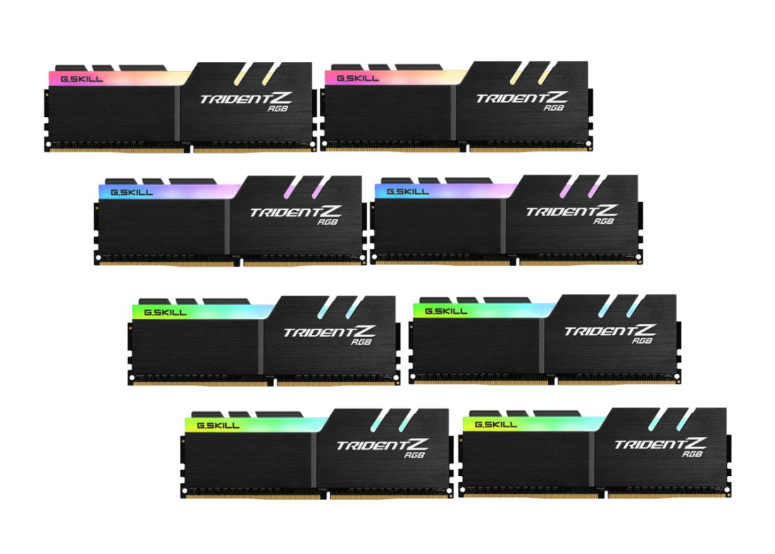 G.SKILL Trident Z black DDR4 4266 128gb (4)