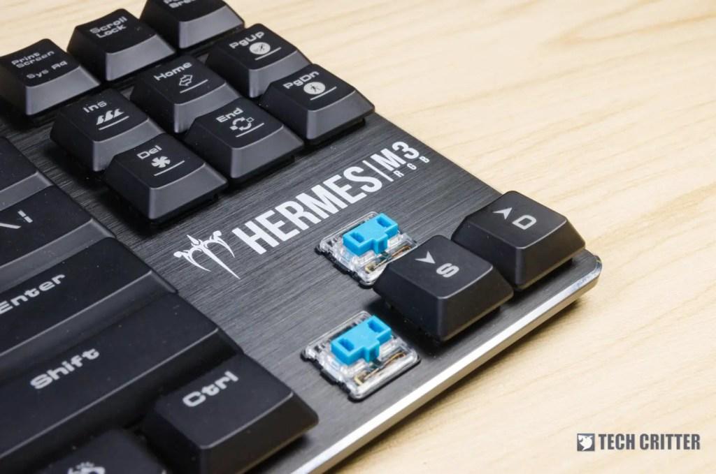 GAMDIAS Hermes M3 RGB Keyboard