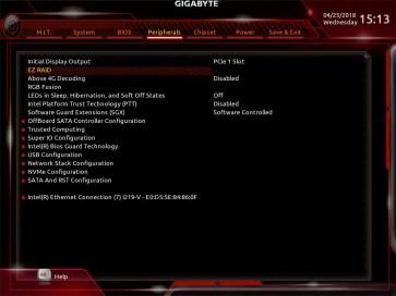 Gigabyte H370 AORUS Gaming 3 UEFI BIOS (4)
