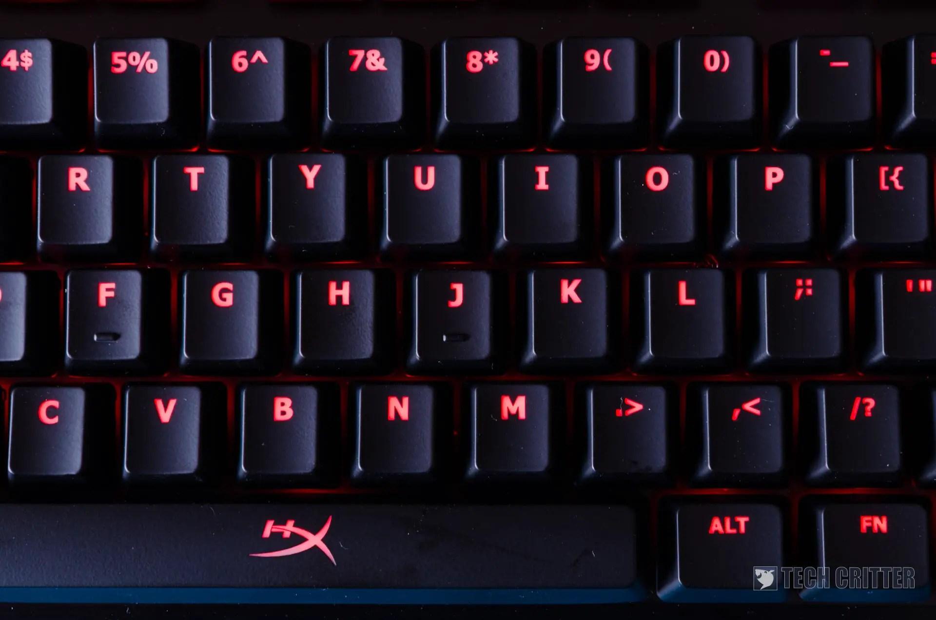 Review - HyperX ALLOY FPS Mechanical Keyboard