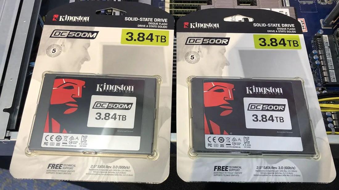 Kingston Data Center 500 DC500R DC500M SSD(1)