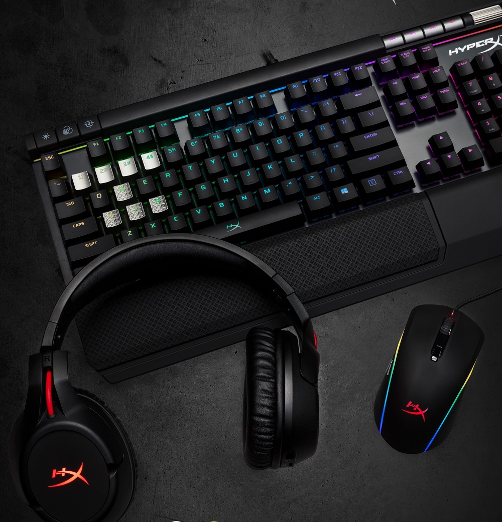 HyperX Get Gamers Geared With Its Latest RGB Gaming Gears
