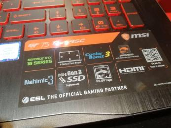 MSI GTX 1660 GTX 1660 Ti laptop (3)