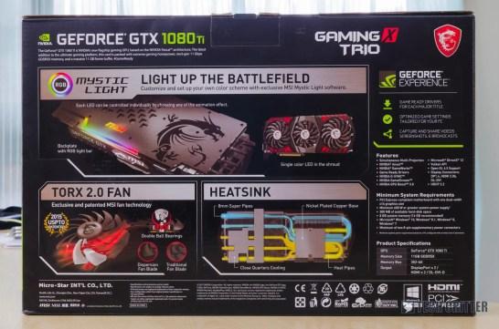MSI GeForce GTX 1080 Ti Gaming X Trio (16)