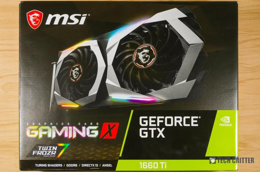 MSI GeForce GTX 1660 Ti Gaming X 6G (1)