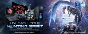 MSI Monster Hunter World Iceborne Featured
