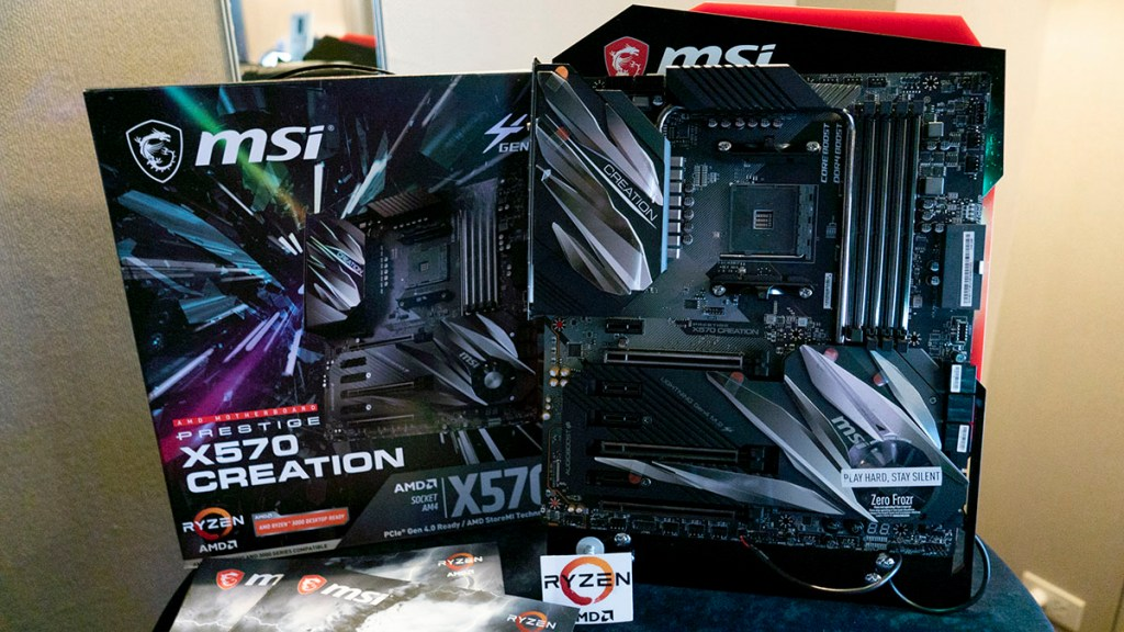 MSI X570 Motherboard X570 CREATION