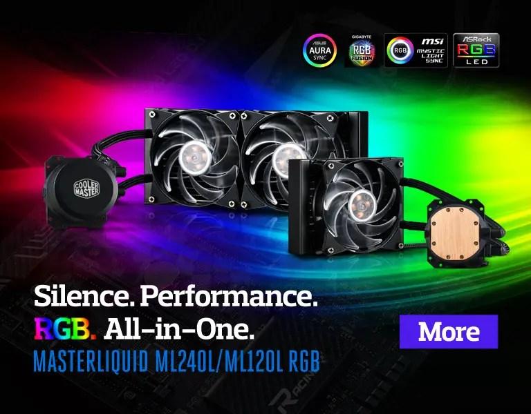 MasterLiquid ML120L & ML240L RGB