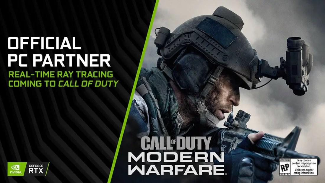 NVIDIA GeForce Call of Duty Modern Warfare Featured