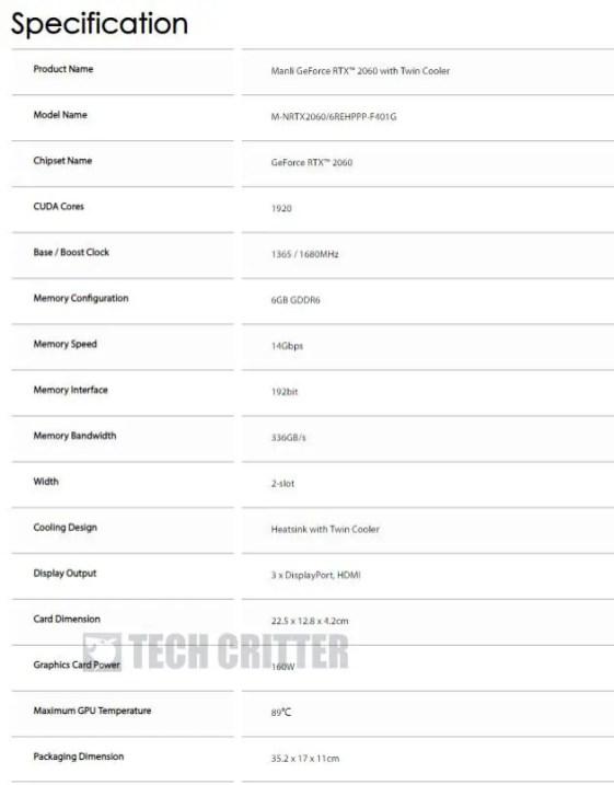 NVIDIA GeForce RTX 2060 Manli Leaks (2)