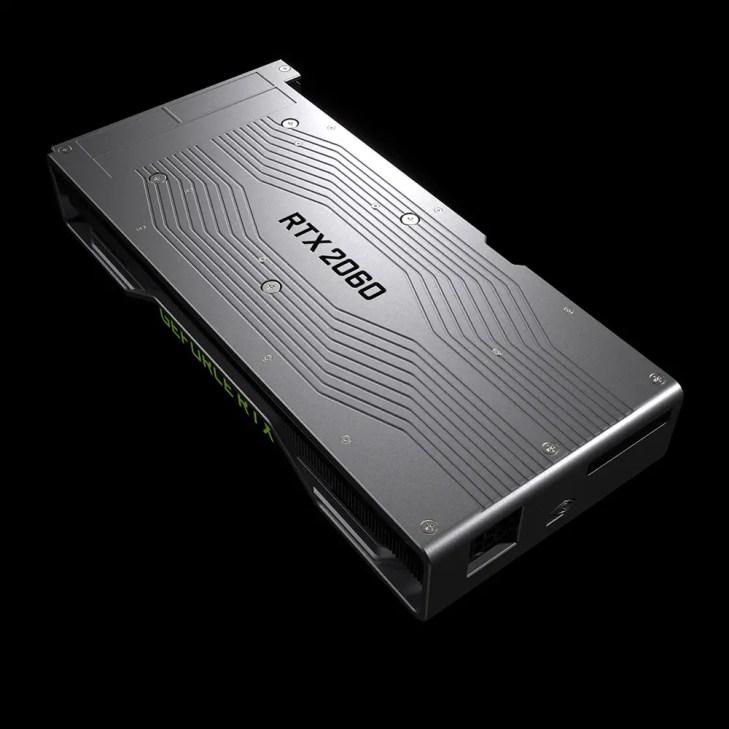 NVIDIA GeForce RTX 2060 back