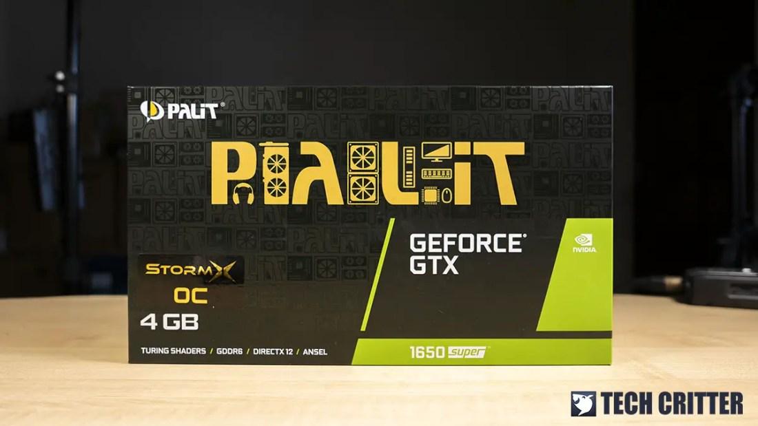 Palit GTX 1650 SUPER StormX OC