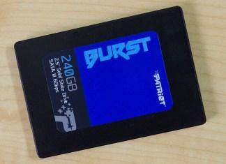 Patriot Burst SSD