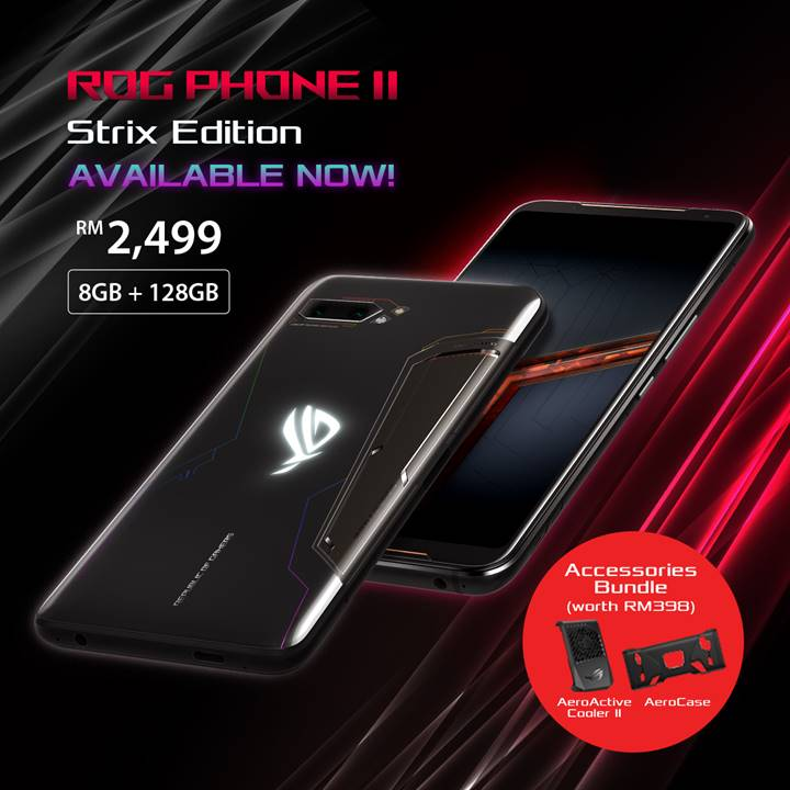 ROG Phone II Strix Edition available at RM2499 5