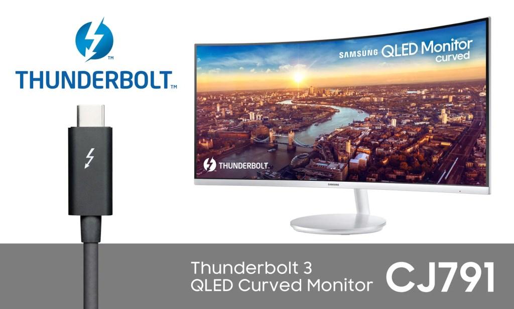 Samsung CJ791 Thunderbolt 3 Monitor (2)
