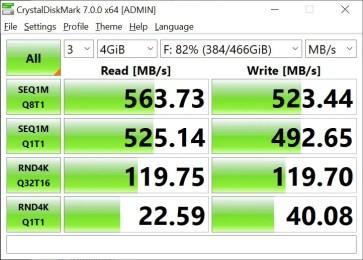 T-Force Delta Max 500GB 4GB Crystal Disk Mark (2)