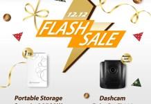 Transcend 12.12 Flash Sales Lazada 2018