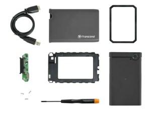 Transcend 2.5-inch SSD HDD Enclosure Kit UASP