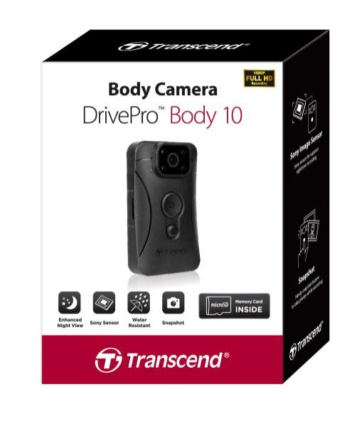 Transcend DrivePro Body 10 Package