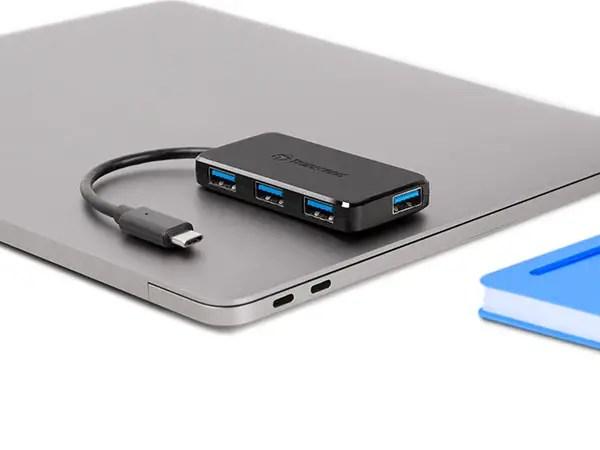 Transcend released new HUB2C USB Type-C 4-port hub 1